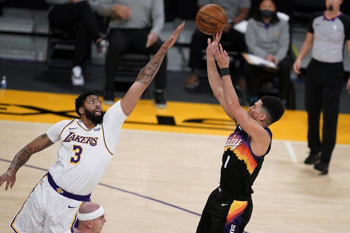 Phoneix Suns LA Lakers Seri Playoff NBA Western Conference Playoffs