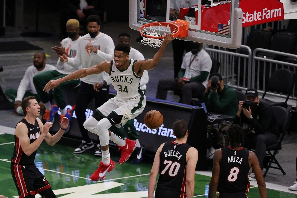 Orang Yunani Aneh Mlwaukee Bucks Miami Heat Seri Pratinjau NBA Playoffs