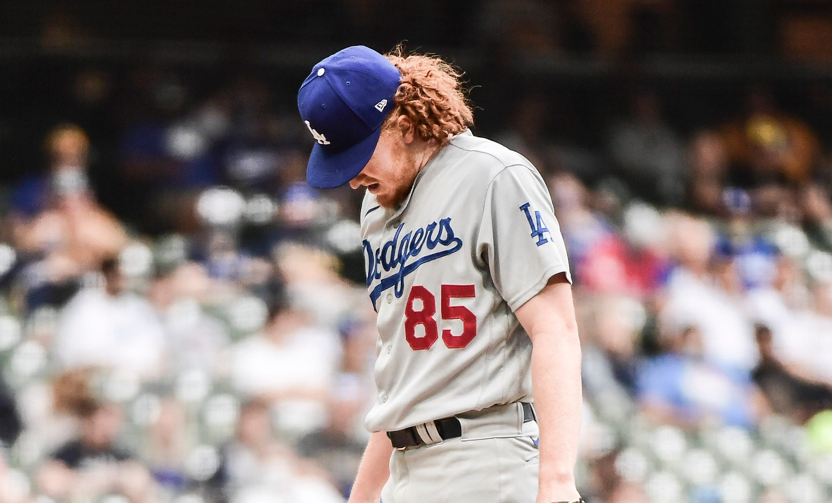 Dustin May injury Dodgers odds