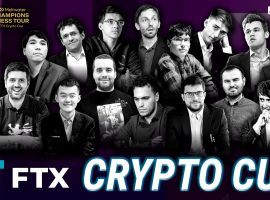 Sixteen grandmasters will compete for cash and Bitcoin in the FTX Crypto Cup, beginning on May 23, 2021. (Image: Champions Chess Tour)