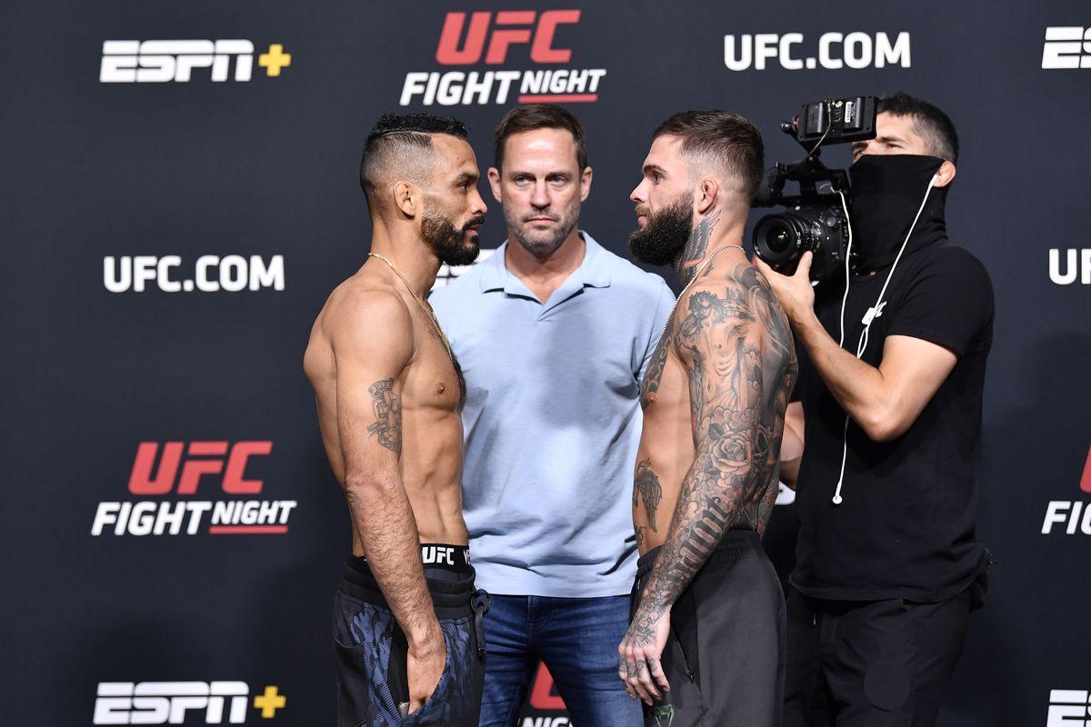 Font Garbrandt odds UFC