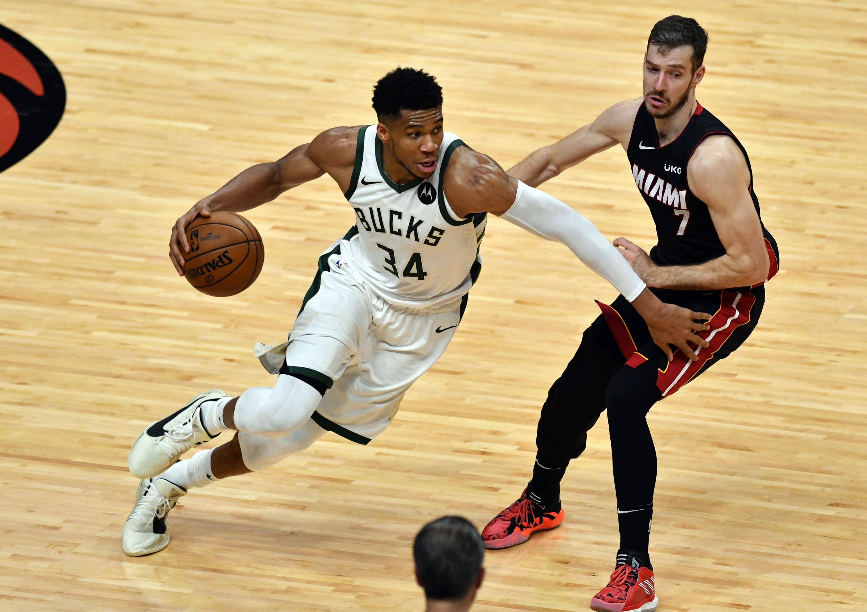 Milwaukee Bucks Miami Heat Game 3 4 Goran Dragic Greek Freak NBA Playoffs