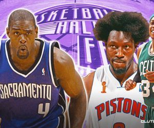 Chris Webber Ben Wallace Paul Pierce Basketball NBA Hall of Fame Induction Class 2021