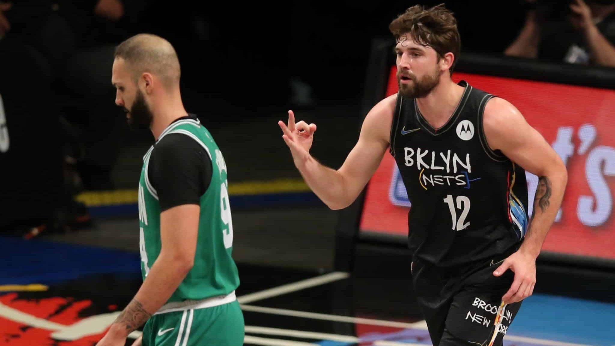 Joe Harris Brooklyn Nets Boston Celtics Game 3 NBA Playoffs