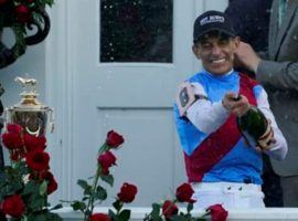 With his Kentucky Derby-champion mount Medina Spirit out, John Velazquez will ride Rombauer in the June 5 Belmont Stakes. (Image: AP File Photo)