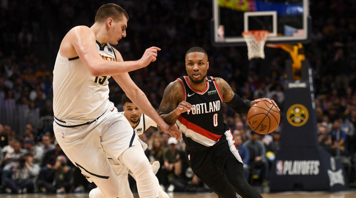 Seri Playoff NBA Sebelumnya Portland Trail Blazers Denver Nuggets Nikola Jokic Damian Lillard