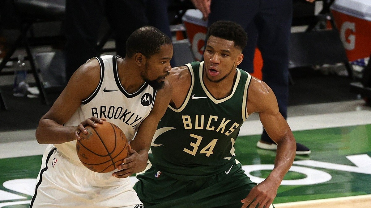 Greek Freak Kevin Durant Milwaukee Bucks 49 Points Brooklyn Nets