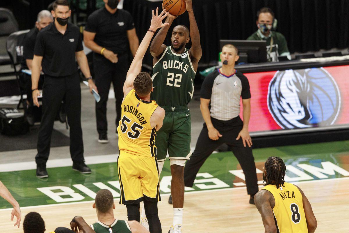 Odds Seri Playoff NBA Khris Middleton Milwaukee Bucks LA Clippers Lakers Jazz