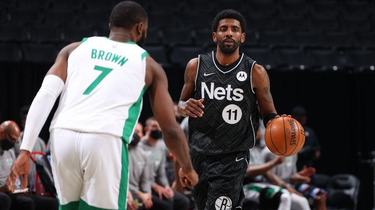 Seri Boston Celtics Kyrie Irving Brooklyn Nets 2021 NBA Playoffs