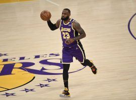 LeBron James from the LA Lakers only played two games before he realized he was not completely ready to return from an ankle injury. (Image: Kevork Djansezian/Getty)