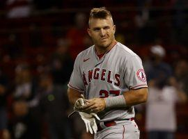 Angels outfielder Mike Trout could miss up to 6 to 8 weeks with a right calf strain. (Image: Winslow Townson/AP)