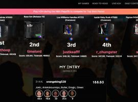 MomentRanks Play offer NBA Top Shot collectors a way to use their moments in daily fantasy sports contests. (Image: MomentRanks.com)