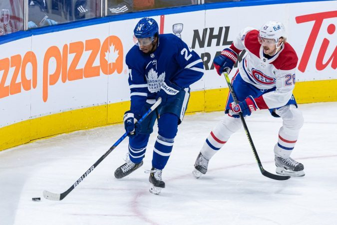 While Canadian teams will start the Stanley Cup Playoffs competing against each other, Canadian border issues could become an issue for the NHL in later rounds. (Image: Julian Avram/Icon/Getty)