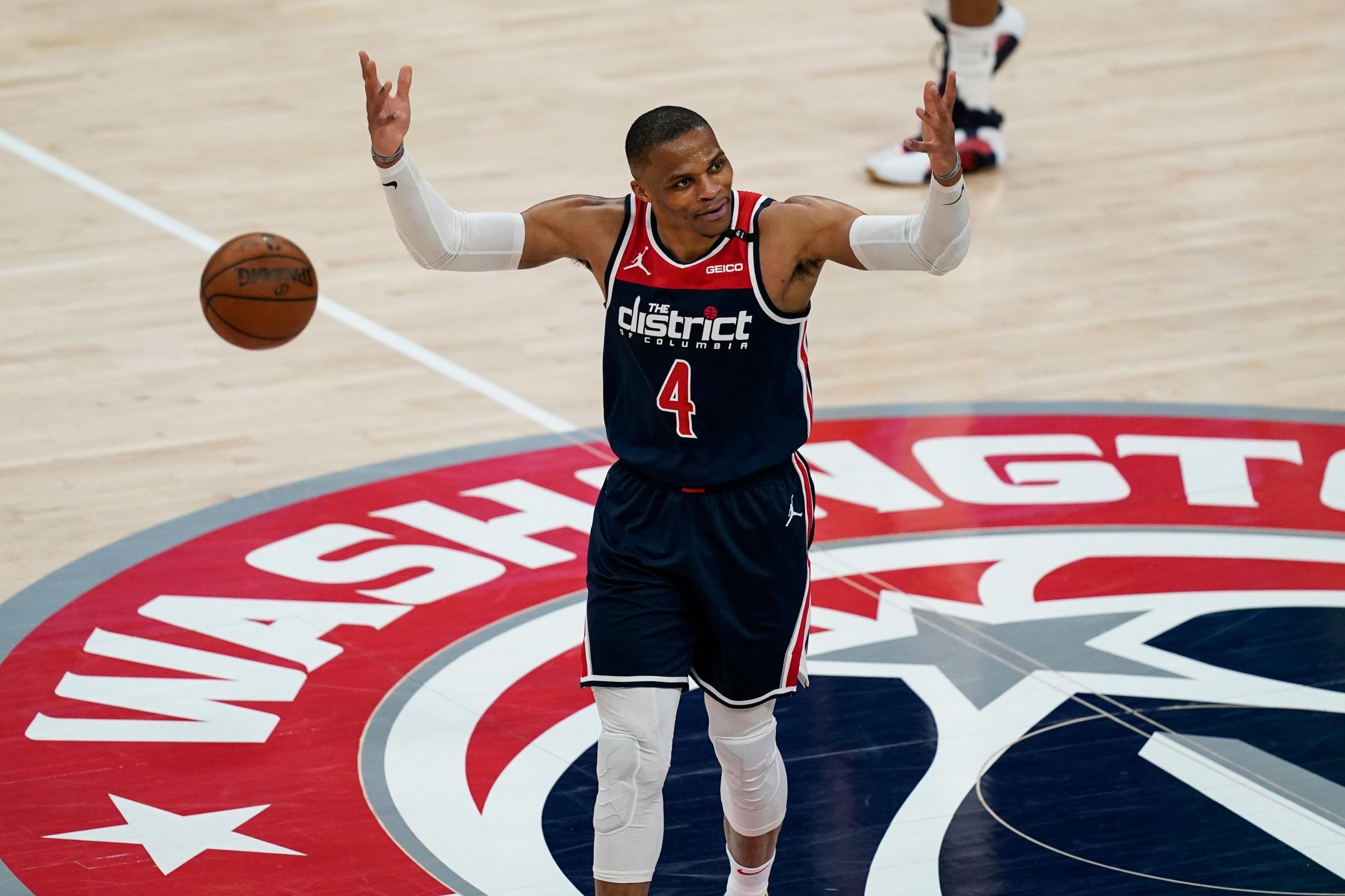 Russell Westbrook Triple-Double Washington Wizards Wilt Chamberlain 20 20