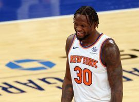 Julius Randle of the New York Knicks won the 2021 NBA MIP as the league's most improved player this season. (Image: Rich Schultz/Getty)