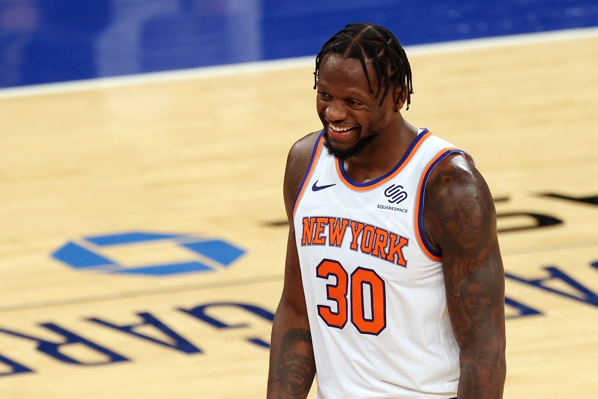NBA Player Awards Julius Randle MIP Sixth Man Year Jordan Clarkson Most Improved Player Knicks Jazz