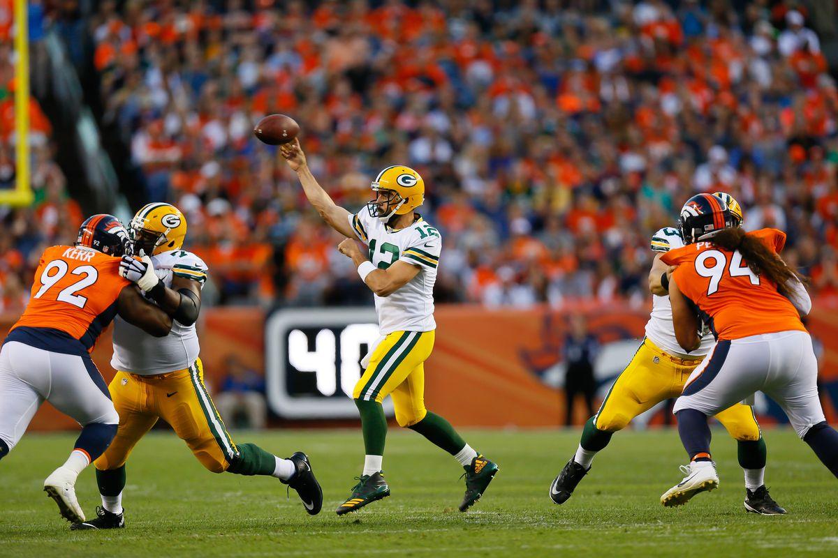 Aaron RodgersGreen Bay Packers Denver Broncos Super Bowl 56 odds LA Rams