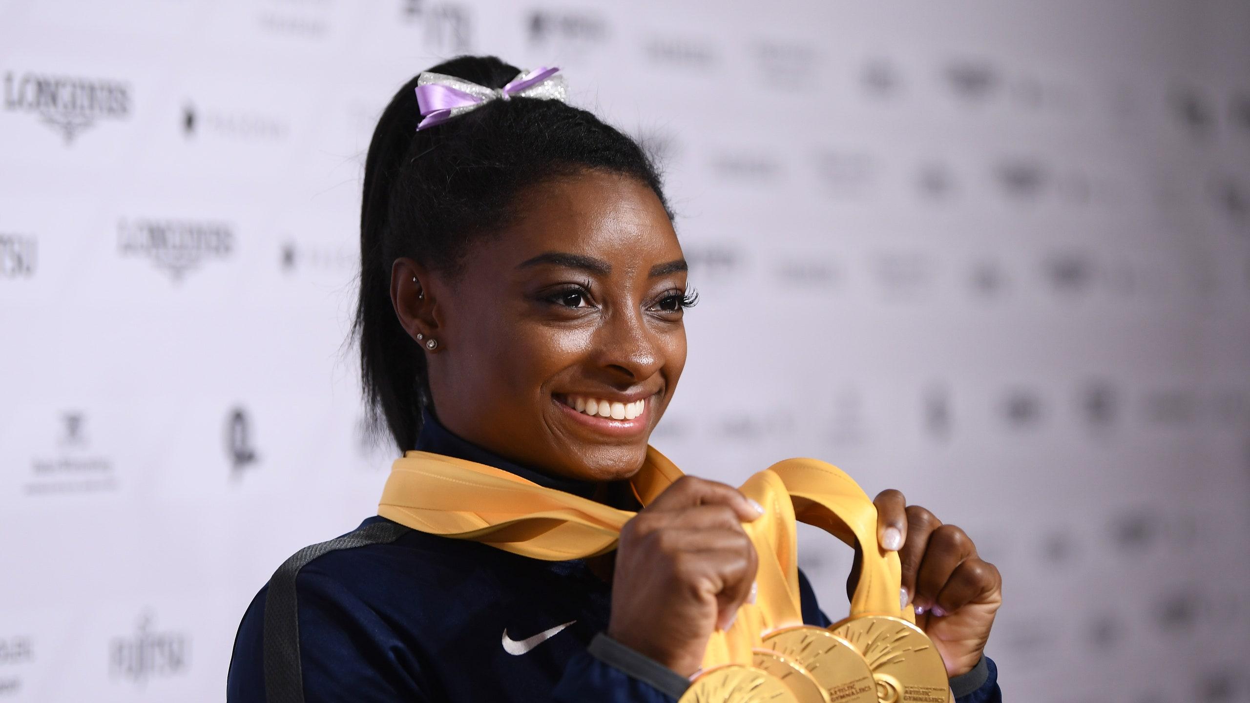 Simone Biles membuang Nike untuk merek Athleta milik Gap