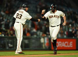 The San Francisco Giants have taken the early lead in the NL West, though sportsbooks remain skeptical of their long-term chances. (Image: Daniel Shirey/Getty)
