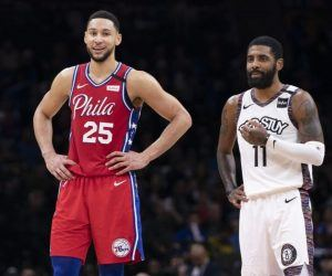 Philadelphia 76ers #1 seed Brooklyn Nets Ben Simmons Kyrie Irving Jazz Suns