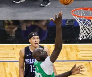 Tacko Fall Boston Celtics Mo Bomba Orlando Magic blocked shots