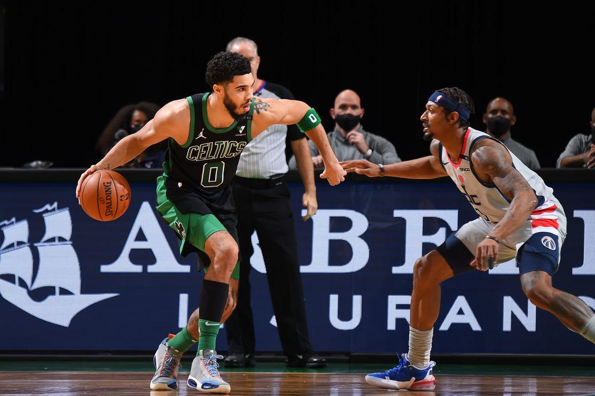 Boston Celtics Washington Wizards Play-in Tournament Preview East Seven-Eight Game NBA Playoffs Jayson Tatum Bradley Beal
