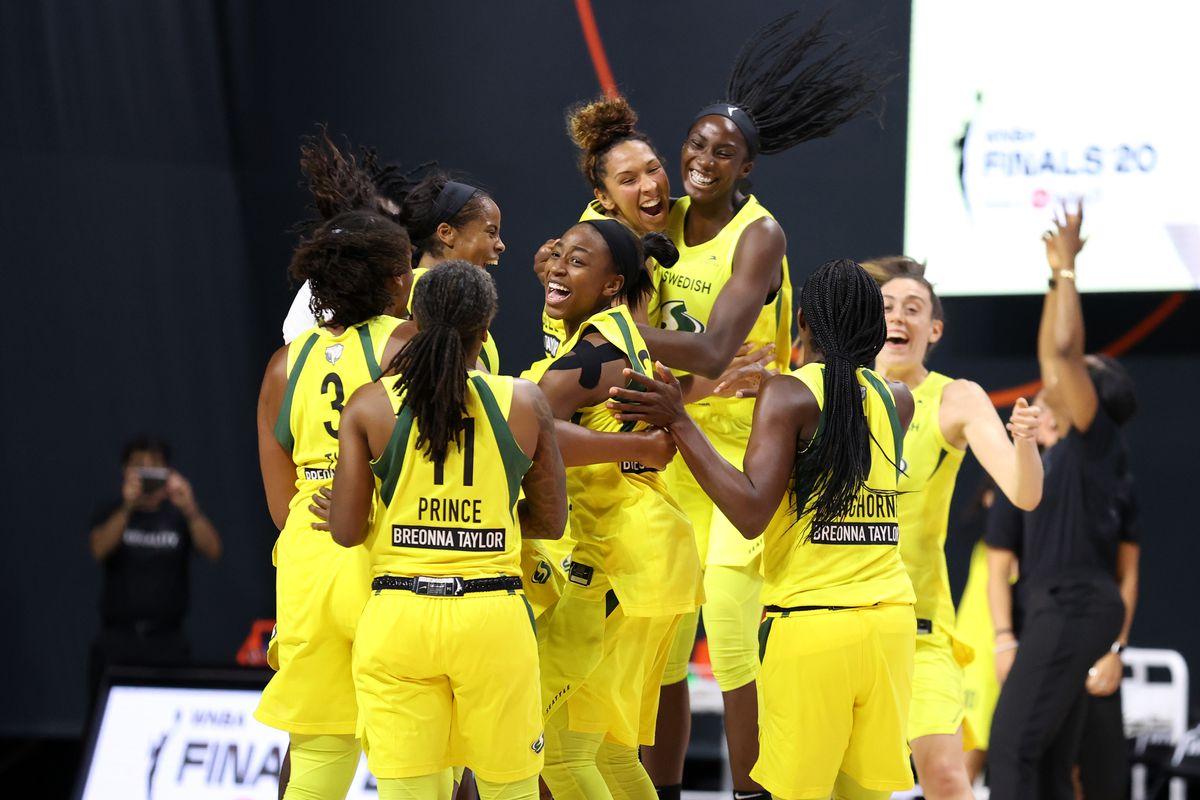 WNBA Odds Seattle Storm Aces