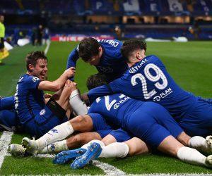 Chelsea goal against Real Madrid
