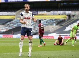 Harry Kane celebrates a Tottenham victory in the English Premier League. (Image: Twitter / @HKane)