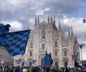 inter title celebrations 2021