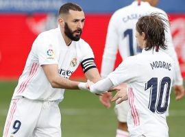 Karim Benzema is back in the French national team after a six-year absence. (Image: Twitter / @RealMadrid)