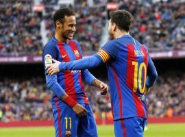 Lionel Messi and Neymar had a close relationship on the pitch, and off of it as well. (Image: fcbarcelona.com_