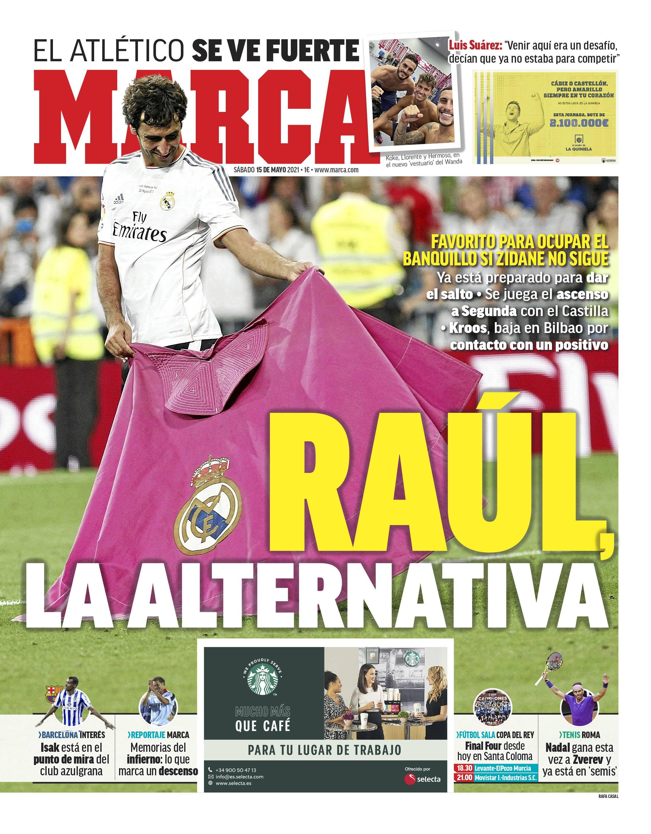Raul Real Madrid Marca