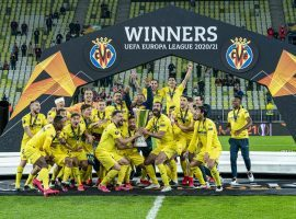 Villarreal won the Europa League after a dramatic penalty shootout against Manchester United, in Gdansk. (Image: Twitter / @RPenha9)