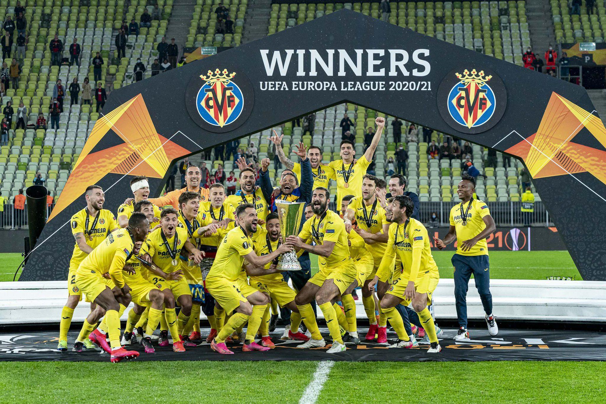 villarreal europa league winners