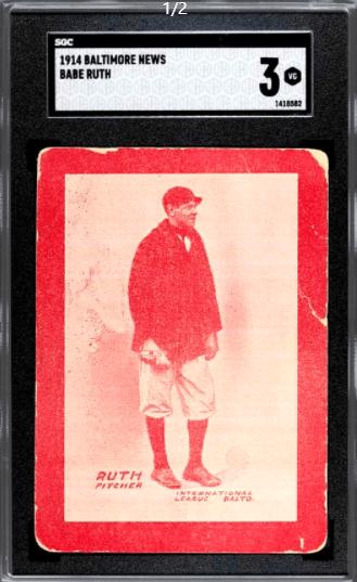 Babe Ruth card
