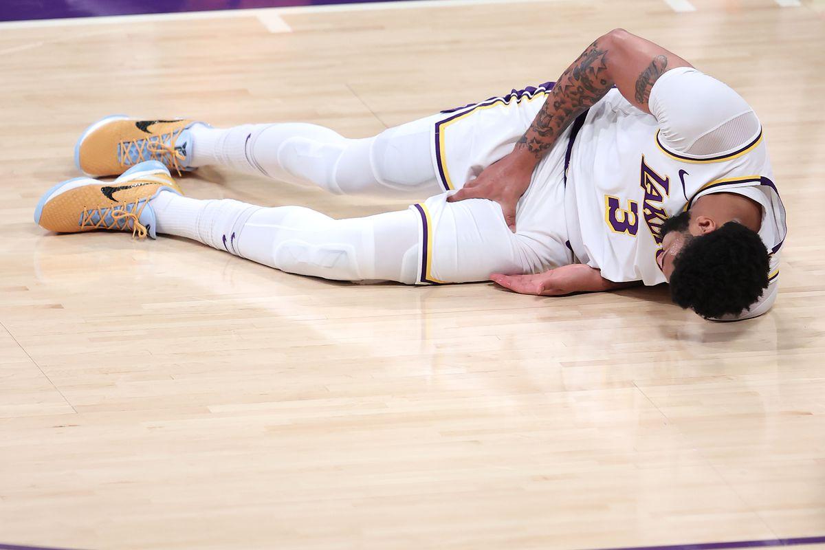Laporan Cedera Anthony Davis LA Lakers Phoneix Suns Game 5