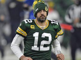 Aaron Rodgers might have played his last game at Lambeau Field after his holdout officially begins due to his dispute with the general manager of the Green Bay Packers. (Image: Quinn Harris/Getty)
