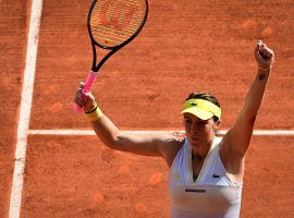 Anastasia Pavlyuchenkova has reached her first Grand Slam final after 52 appearances, and will take on Barbora Krejcikova for the French Open title. (Image: Martin Bureau/AFP)