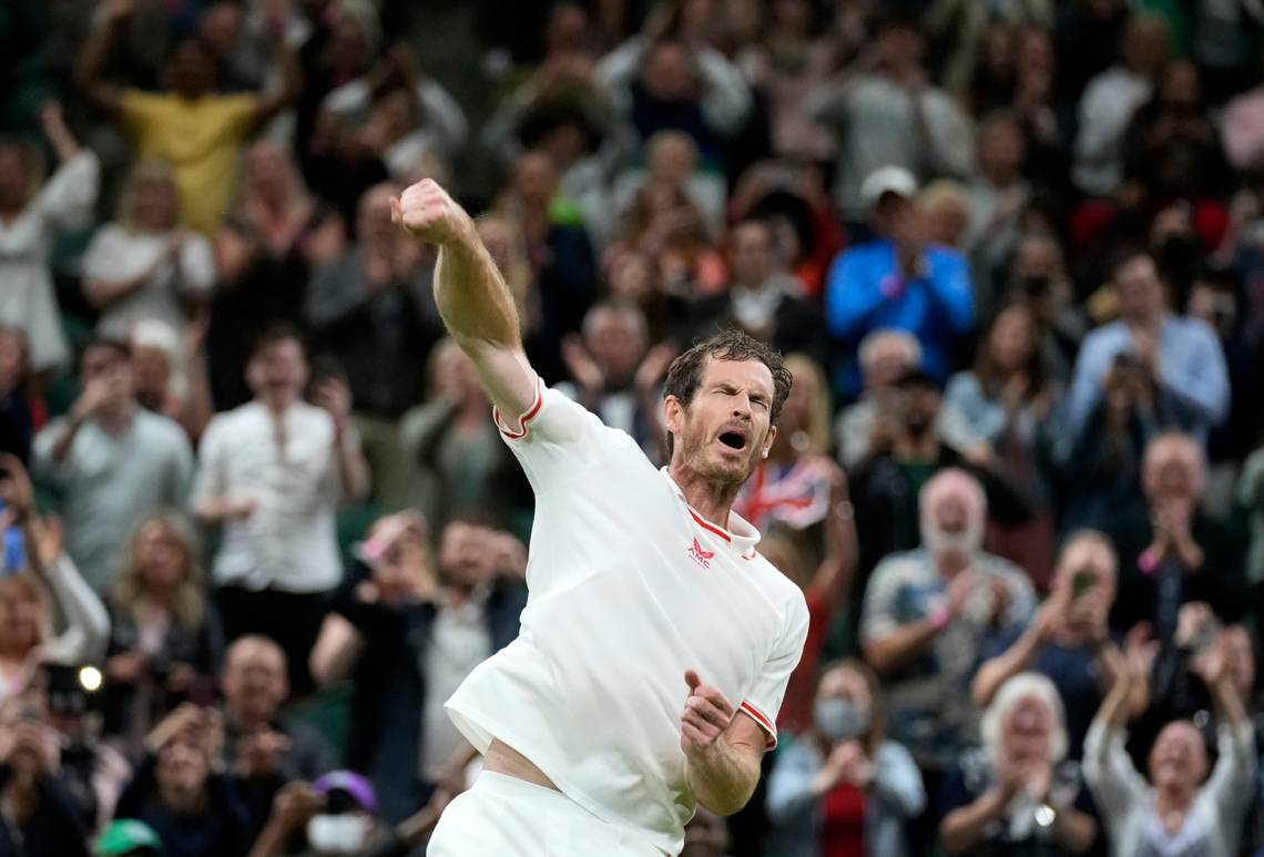 Andy Murray Wimbledon Tiafoe