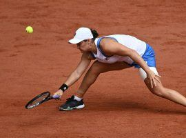 Ashleigh Barty retired from her second-round French Open match after an ongoing hip injury became too much to handle. (Image: AFP)