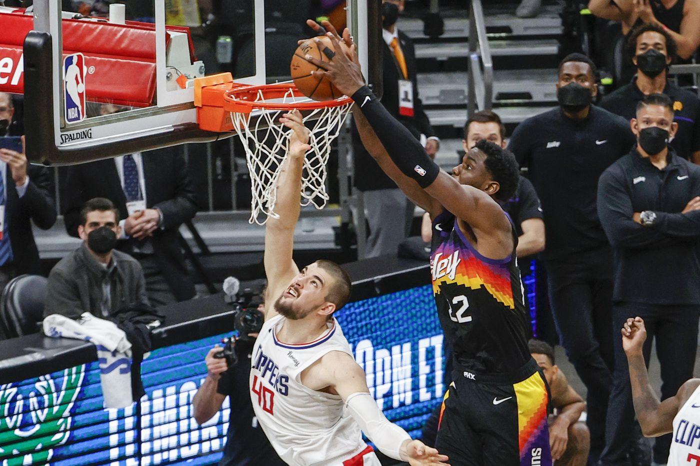 Game 3 Phoenix Suns LA Clippers Playoff NBA Deandre Ayton