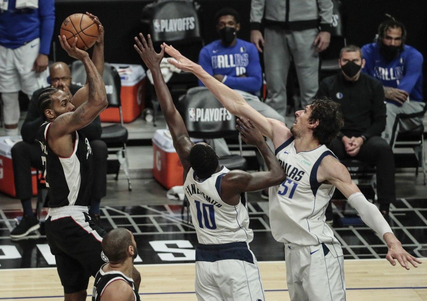Luka Doncic Kawhi Leonard NBA Playoffs Dallas Mavericks LA Clippers Mavs Boban