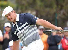Bryson DeChambeau fell apart on the back nine of the US Open on Sunday, but comes into the Travelers Championship as the favorite to win in Connecticut. (Image: Getty)