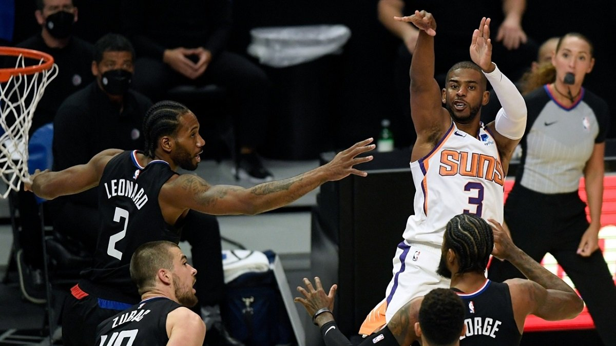 Kawhi Leonard Chris Paul Laporan Cedera NBA Game 2 Final Wilayah Barat Suns Clippers