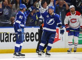 The Tampa Bay Lightning will try to double their lead in the Stanley Cup Finals when they host the Montreal Canadiens in Game 2 on Wednesday night. (Image: Getty)