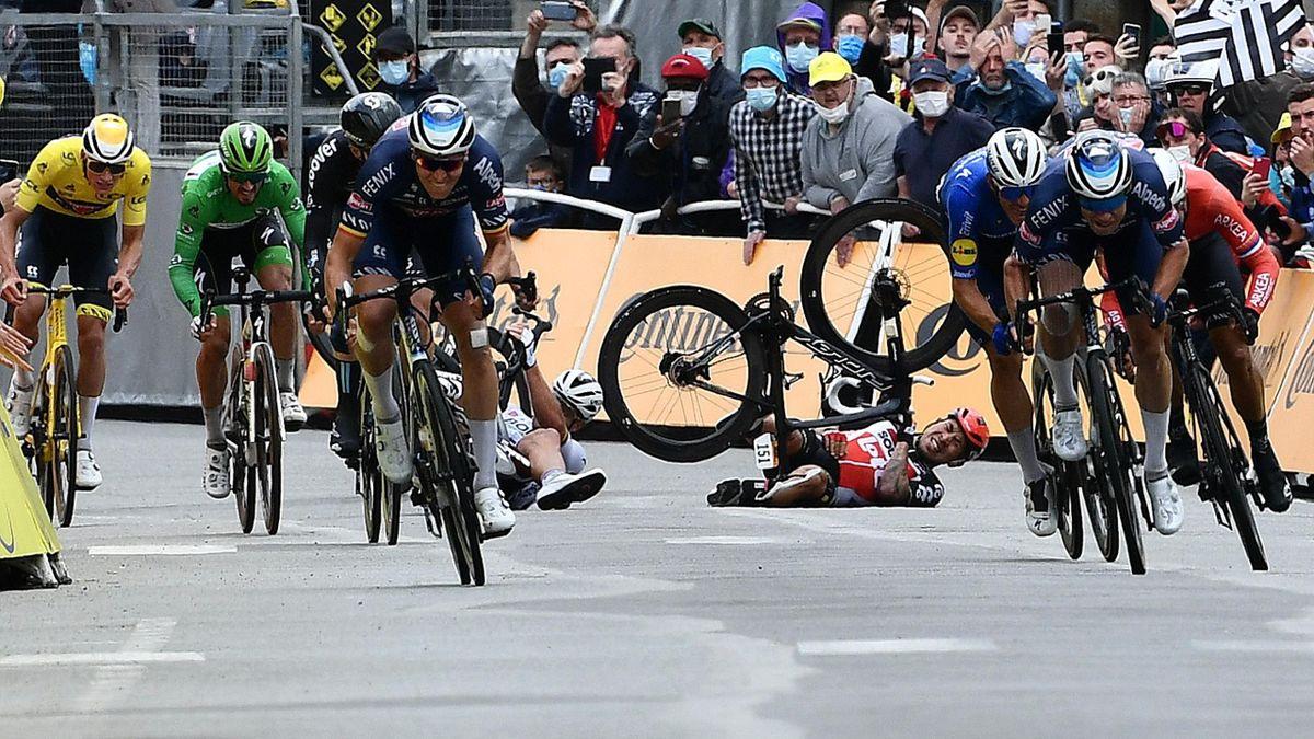 Tour de France Tahap 3 Pontivy Caleb Ewan Tim Merlier