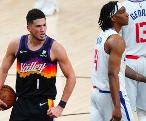 Devin Booker Phoenix Suns LA Clippers Game 1 2 NBA Playoffs