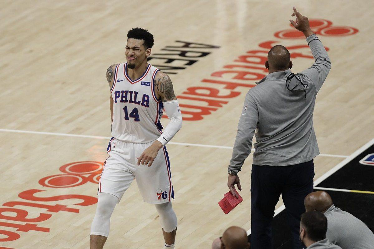 NBA Injury Playoffs Philadelphia 76ers Danny Green Calf Strain