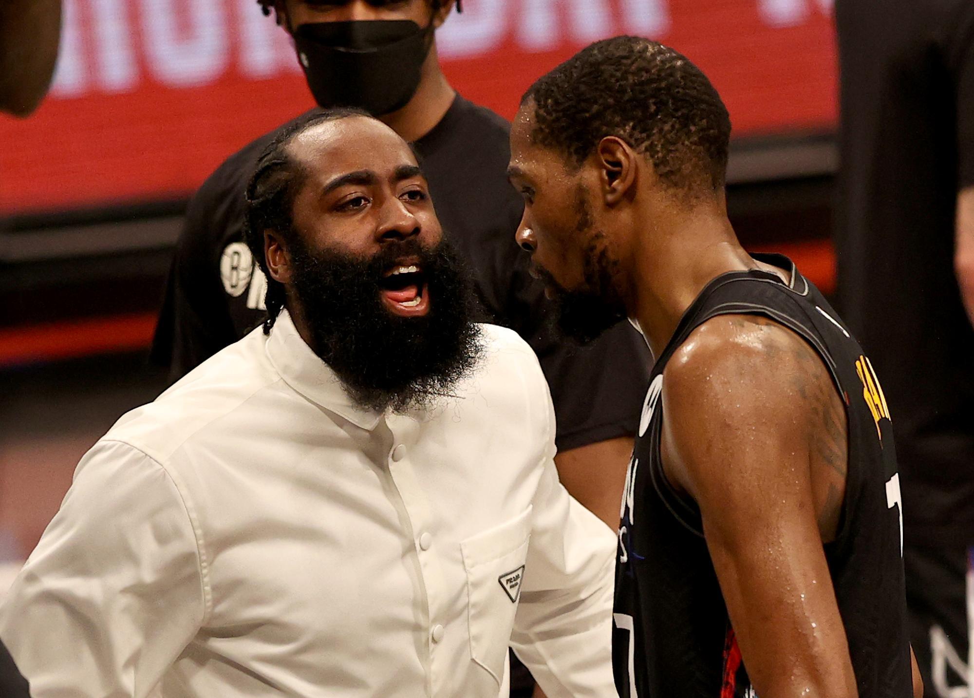 Brooklyn Nets Injury Update Report James Harden Out Game 3 Hamstring Milwaukee Bucks NBA Playoffs